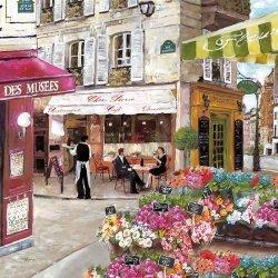 ドイツ/Easy Life/ペーパーナプキン/RUES DE PARIS