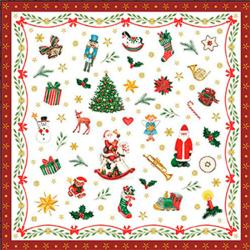 ヨーロッパ/Ahm/ペーパーナプキン/Christmas