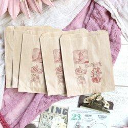 フランス/マルシェ袋【パン職人】ミニサイズ