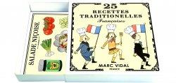MarcVidal/フランスレシピカードセット