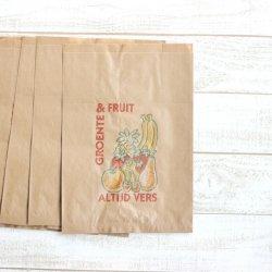 オランダの果物屋さんの袋【fruitzakken】/大サイズ