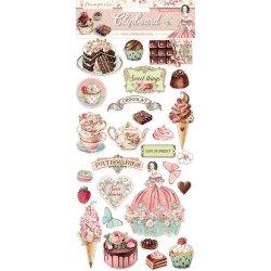 Stamperia/チップボード/Sweety