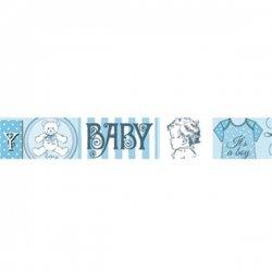 Stamperia/デコテープ/BabyBlue
