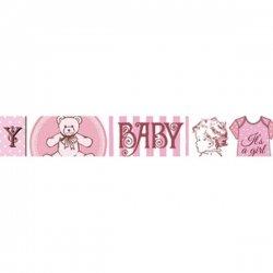 Stamperia/デコテープ/BabyPink
