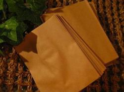 ミニサイズクラフト紙袋