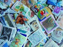 オーストラリアの使用済み切手20枚