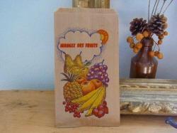 フランスのマルシェ袋【Mangezフルーツ】