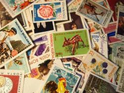 ルーマニアの使用済み切手20枚