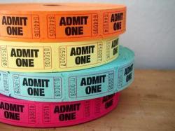 AdmitOneチケット【20枚】