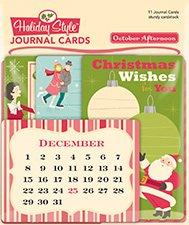 OctoberAfternoon/ジャーナルカード/DC-155/HolidayStyle