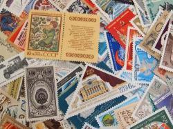 ロシアの使用済み切手20枚