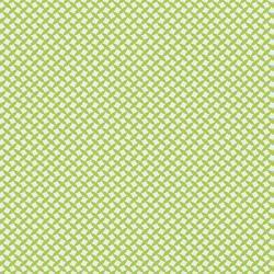 JenniBowlin/12インチパターンペーパー/GreenCrosshatch