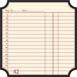 JenniBowlin/12インチペーパー/Classic Die Cut Label Paper- Receipt