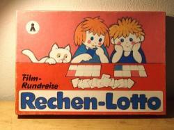 ドイツGDR時代のこどもゲーム【RechenLotto】