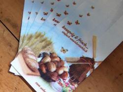 ドイツのパン屋さんの袋【knusprig&frisch】