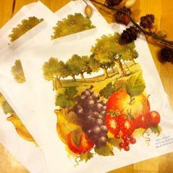 フランスのマルシェ袋【RAISIN】