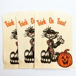 1960'sハロウィンヴィンテージバッグ【Pumpkin】