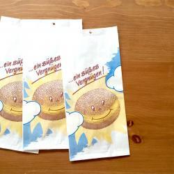 ドイツの揚げパンの袋