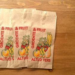オランダの果物屋さんの袋【Groente&Fruit】