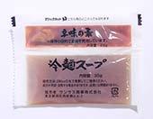 サンサス 特製冷麺スープ 1袋30g 70円
