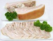 【年末セール11/22〜12/24出荷分まで】煮豚カルビ・ブロック 500g〜600gのブロック売り1500円