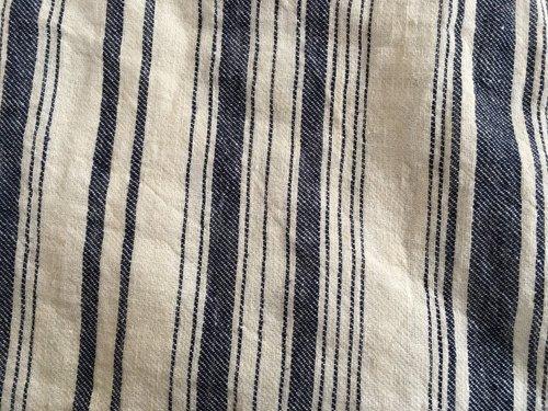 マルクドブロデュー(Marque de BRODEUSES,シュシュドママン) Cotton Linen stripe Sleeveless dressの商品写真5