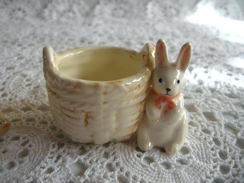 マニー プチメゾン 陶器 ミニバスケットの商品写真2