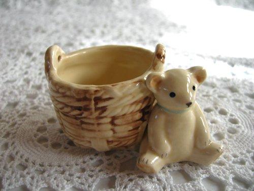 マニー プチメゾン 陶器 ミニバスケットの商品写真4