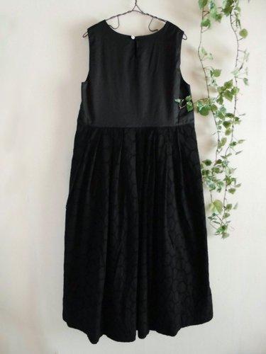 s.t.closet frabjous(エスティークローゼット フラビシャス) オーバーレースワンピース ブラックの商品写真2