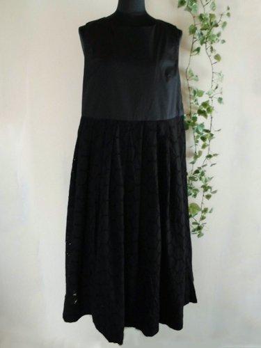 s.t.closet frabjous(エスティークローゼット フラビシャス) オーバーレースワンピース ブラックの商品写真3