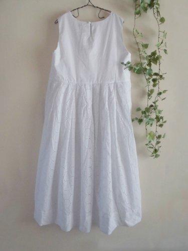 s.t.closet frabjous(エスティークローゼット フラビシャス) オーバーレースワンピース ホワイトの商品写真2