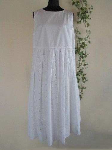 s.t.closet frabjous(エスティークローゼット フラビシャス) オーバーレースワンピース ホワイトの商品写真3