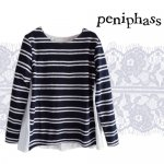 Peniphass ボーダージャガードトップス