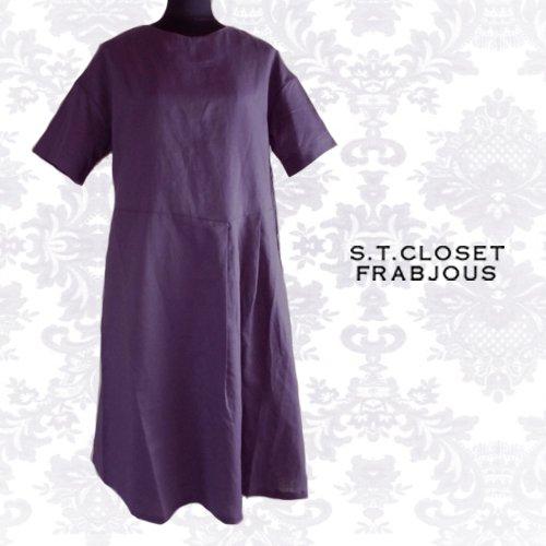 s.t.closet frabjous(エスティークローゼット フラビシャス) プリーツワンピース の商品写真3