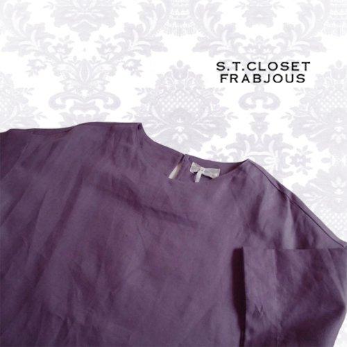 s.t.closet frabjous(エスティークローゼット フラビシャス) プリーツワンピース の商品写真4