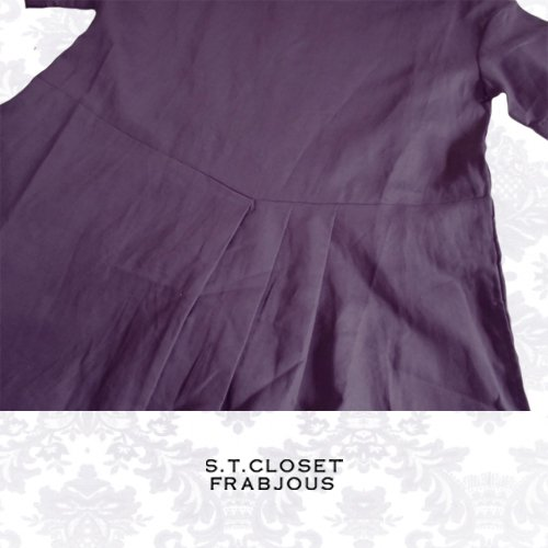 s.t.closet frabjous(エスティークローゼット フラビシャス) プリーツワンピース の商品写真5