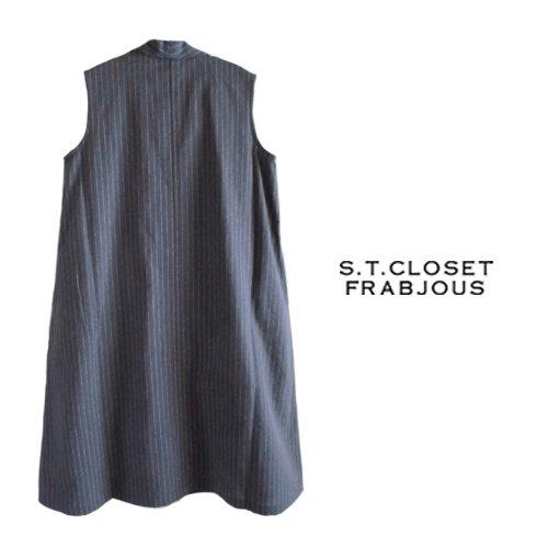 s.t.closet frabjous(エスティークローゼット フラビシャス) ノースリーブワンピース の商品写真2