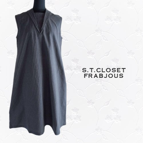 s.t.closet frabjous(エスティークローゼット フラビシャス) ノースリーブワンピース の商品写真3