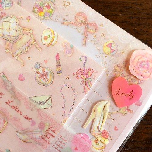 Clothes-Pin(クローズピン) たけいみきシリーズ レターセットの商品写真4