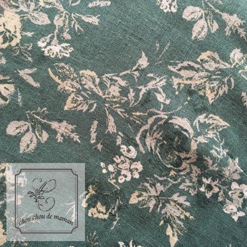 chou chou de maman(シュシュドママン)ブロカントローズ ノースリーブワンピース 花柄 アンティーク調 シャビー の商品写真6