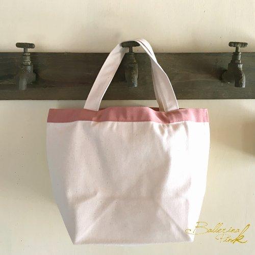 Ballerina Pink(バレリーナピンク)キャンバスりぼんトート うさぎの商品写真2