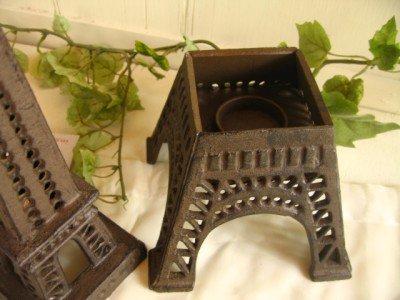 エッフェル塔キャンドルスタンドの商品写真2