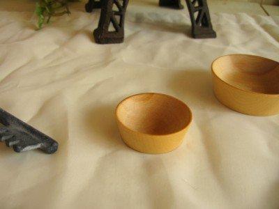 ティアラ 木製小皿の商品写真2