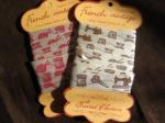 オタンジャディス サテン刺繍テープ
