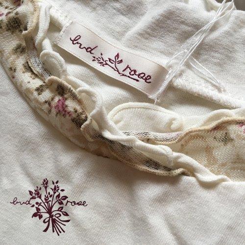 Maglia bud rose(マーリア バドローズ) 花柄フリル ハイネックカットソー の商品写真5