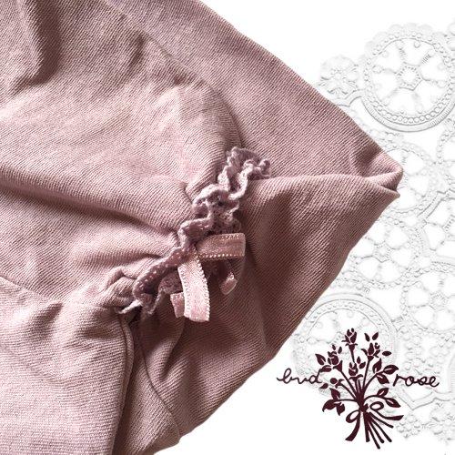 Maglia bud rose(マーリア バドローズ) サイドシャーリング タートルネックカットソー の商品写真5