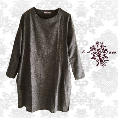 Maglia bud rose(マーリア バドローズ) シンプルコクーンチュニックの商品写真です