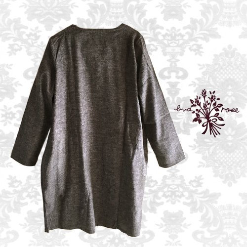 Maglia bud rose(マーリア バドローズ) シンプルコクーンチュニックの商品写真2