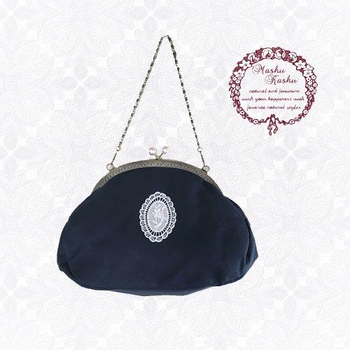 Mashu Kashu(マシュカシュ)がま口バッグの商品写真です