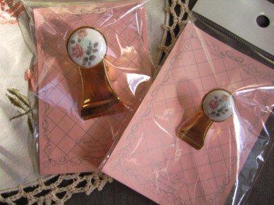 プランドパリ ロゼット クリップの商品写真です